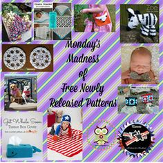 Monday's Madness of Recently Released Free Patterns