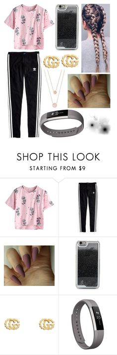 """""""Casual/Comfy"""" by eliza-winstanley ❤ liked on Polyvore featuring Madewell, LMNT, Gucci, Fitbit and Michael Kors"""