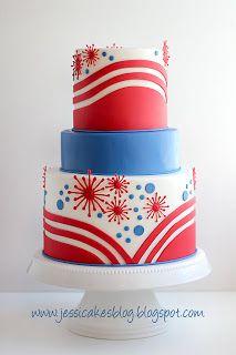 fireworks cake   Fireworks cake, Chocolate hazelnut cake ...