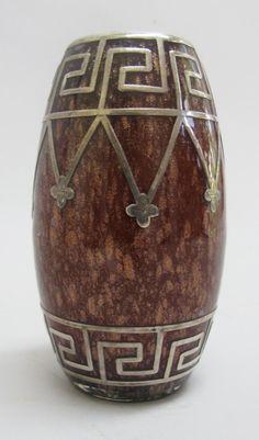 Fine LOETZ METALLIN Art Nouveau Silver Overlay Glass Vase c. 1910  antique | Antiques, Periods & Styles, Art Nouveau | eBay!