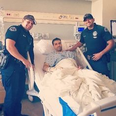 Last week Officer Fadi Chelico lost his leg in the line of duty. This week he's talking about going back to work. The courage, fortitude and heart of ALL those who protect and serve others for a living never, ever ceases to amaze me. Thin Blue Line