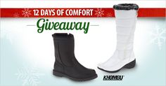 This chilly winter you will want a pair of Khombu boots. Each pair is built to protect feet from rain, slush and snow, keeping them comfortable dry. Enter to win a pair of the FootSmart Facebook page.