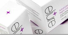 Brand strategy  identity -  Elure - Advanced skin brightening technology .