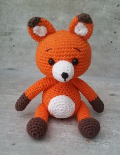"Tiko the Fox - Free Amigurumi Crochet Pattern - PDF File English Version click ""download"" here: http://www.ravelry.com/patterns/library/tiko-the-fox"
