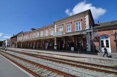 Svendborg Train Station, Denmark. Jun 2012.