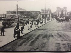 Clarence Pier, early 1900s.