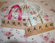 Mamaw Ornament, Christmas Ornament, Valentines, Easter,  Papaw Gift, Mimi, Mamaw, Nana Ornament, Mom, Grandma, Mommy, Grammy, Mothers Day