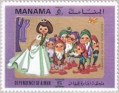 ◇Ajman (Manama dependency of Ajman) Stamp 1972