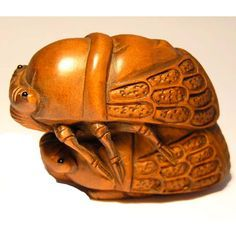 hand carved insect - Google Search
