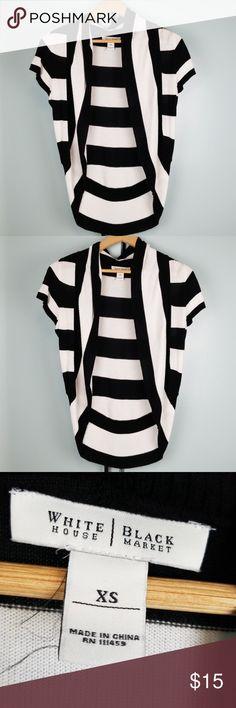 a524f5d623 White House Black Market Open Cardigan size XS Beautiful stripped open  cardigan size XS in like