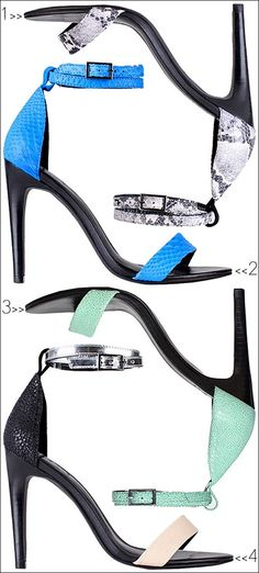 SHOE CRUSH: ankle straps Design works No.2010 |2013 Fashion High Heels|
