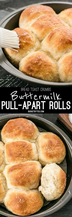 These incredible light and delicate Buttermilk Pull-Apart Rolls couldn't be easier thanks to a simple no-knead dough.