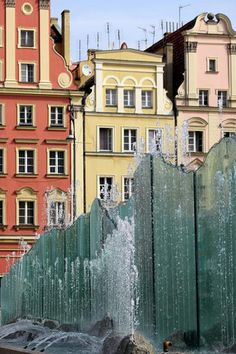 Wroclaw--Been there!!!! In front of that very fountain!