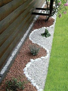 #Backyard Designe The Idea How To Make A Nice Yard, White Brown Variant Of