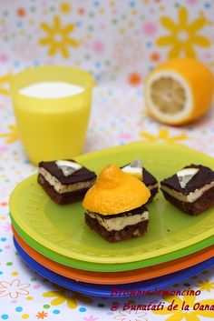 Brownie lemoncino - un alt fel de brownie cappuccino