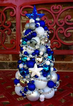My Cowboys Christmas Tree Is Up. | Dallas Cowboys U003c3 | Pinterest | Trees, Christmas  Trees And Cowboy Christmas