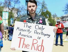 The only minority destroying America AND THE REST OF THE WORLD is the rich