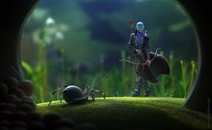 Stunning 3D Illustrations by Nikita Veprikov