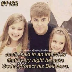 :') Thank you justin... That means so much to me.... I pray every night that God keep you save!