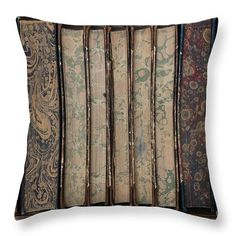Books Throw Pillow featuring the photograph Old Books by Sverre Andreas Fekjan Pillow Sale, Old Books, Poplin Fabric, Outdoor Blanket, Photograph, Cleaning, Throw Pillows, Zipper, Printed