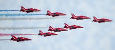 Wales National Air Show - Swansea Bay - 12 July 2015 RAF Red Arrows - Simply the best !! https://www.picturedashboard.com