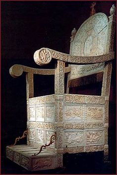 Throne of Ivan the Terrible. Best of Russia --- Royal Regalia