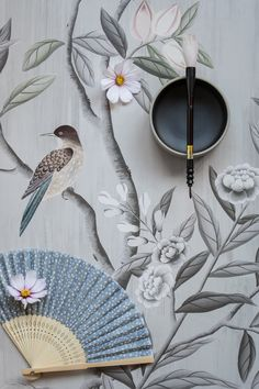 Rebel Walls Unveils The New La Chinoiserie Wallpaper Collection - SA Decor & Design Modern Wallpaper, Home Wallpaper, Amazing Wallpaper, Chinoiserie Wallpaper, Chinoiserie Chic, Wallpaper Collection, Wallpaper Companies, Paint Your House, Paper Birds
