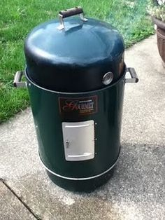 Cooking with a smoker
