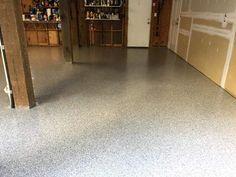 Epoxy Flake Garage- Cape Fear Concrete Coatings- Wilmington NC
