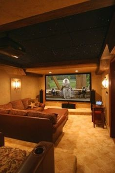 Contemporary media room by Gramophone.  One day when all is right with the world, I will get this! :)