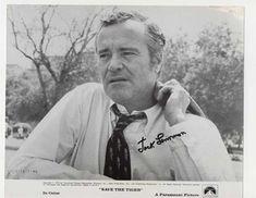 Signed photo of Jack Lemmon for film Save the Tiger from 1972 Jack Lemmon, Jill Clayburgh, Cincinnati Kids, Silent Screen Stars, Save The Tiger, Robert Walker, Drama Teacher, Maureen O'hara, Best Sci Fi