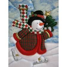 Resultado de imagen de cuadros navideños Christmas Stockings, Christmas Tree, Christmas Ornaments, 4th Of July Wreath, Applique, Quilts, Knitting, Holiday Decor, Pattern