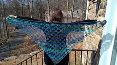 Perfect for summer! This light-weight, openwork shawl will enhance your wardrobe without breaking a sweat.