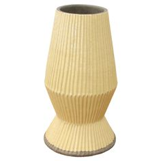 Issey Vase Medium in Yellow