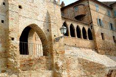 Palazzo Pelagallo loggette #marcafermana #montevidoncombatte #fermo #marche