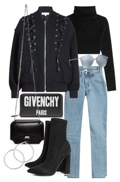 """""""Untitled #21435"""" by florencia95 ❤ liked on Polyvore featuring Givenchy, Vetements, Valentino, IRO, Christian Dior and Boohoo"""