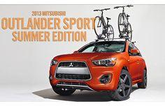 Mitsubishi Unveils Outlander Sport Summer and Outlander Winter Editions. Mitsubishi Motors, Mitsubishi Outlander, Winter, Sports, Summer, Winter Time, Hs Sports, Summer Time, Sport