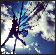 Sara Bareilles trapeze photoshoot! Sara Bareilles, I Found You, Acro, Love Her, Singer, Earth, Photoshoot, World, Concert