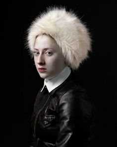 If It's Hip, It's Here: With His Daughter As Muse, Photographer Hendrik Kerstens Emulates Flemish Paintings.