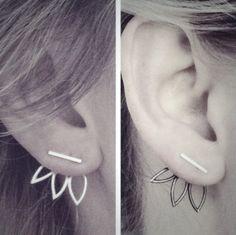 Hollow Flower Earrings