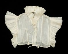 Chemisette  National Trust Inventory Number 1349948 CategoryCostume Date1800 - 1825 MaterialsCotton CollectionSnowshill Wade Costume Collection, Gloucestershire (Accredited Museum)