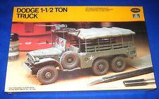 1982 Testors Italeri U.S. WWII Dodge 1-1/2 Ton Truck Model Kit-NEW-1/35-#771