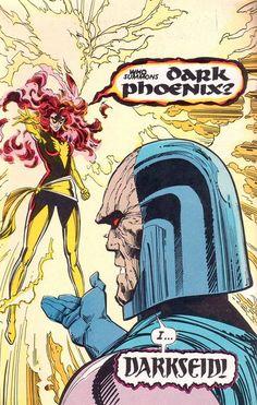 """Who Summons Dark Phoenix?"" ""I...Darkseid!"""