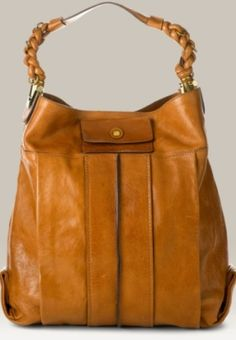 Chloe Heloise Leather Bucket Bag