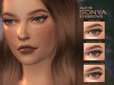 Alf-Si: Sonya - Eyebrows HQ & Non HQ • Sims 4 Downloads