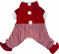 Dogit Christmas Santa Dog Pyjama, Small, Red - http://www.thepuppy.org/dogit-christmas-santa-dog-pyjama-small-red/