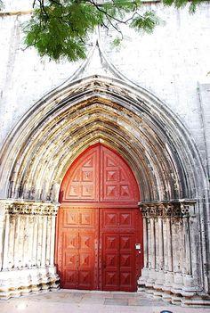 Carmo Church, Lisbon Portugal