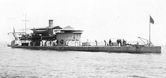 The USS Nahant was a Passaic-class ironclad monitor of the United States Navy that saw service in the American Civil War and the Spanish–American War. The Spanish American War, American Civil War, American History, Us Navy, Royal Navy, Uss Monitor, Confederate States Of America, Military History, Naval History