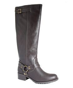 Look at this Cocoa Nevada Extra Wide-Calf Boot on #zulily today!