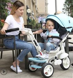 245.00$  Watch now - http://alishm.shopchina.info/1/go.php?t=32816954506 - Children's tricycle bicycle cart seats can rotate 360 degrees 245.00$ #magazine
